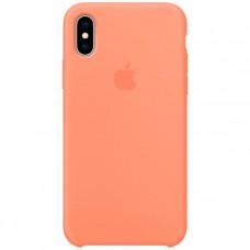 Чехол для iPhone Apple iPhone X Silicone Case, Peach